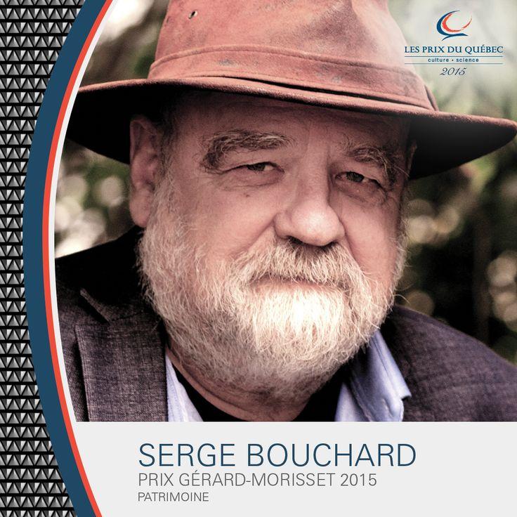 Serge Bouchard, anthropologue, animateur radio, auteur et humaniste. Lauréat du prix Gérard-Morisset 2015. © Julie Durocher #PrixduQuébec #PatrimoineQc