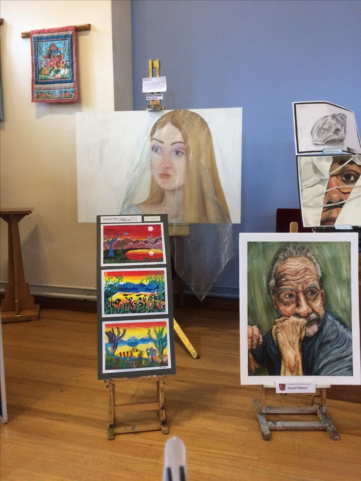 Giulia, Chesterfield Senior School Art Exhibition, St Andrews Church, October 2017.