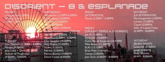 Burning Man 2015 Disorient Lineup // DeeplyMoved