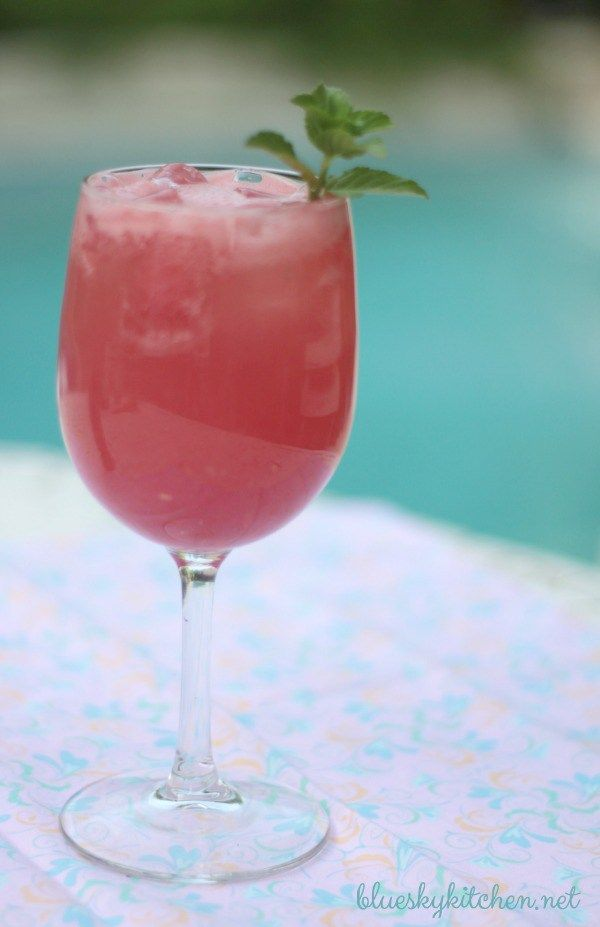 Yummy Summer Watermelon Cocktail is perfect for quenching your thirst on a hot summer day.