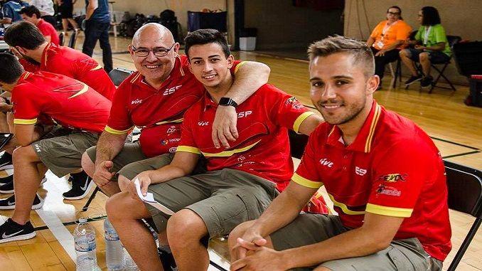 El actual entrenador del Mideba Extremadura, Jorge Borba, ha participado en el Campeonato de Europa de baloncesto en silla de ruedas en su primera experiencia internacional con la Selección Española.