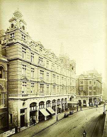 Great Eastern Hotel, Liverpool Street, 29 Oct 1886