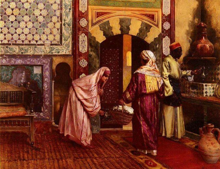 The Hammam   Rudolf Ernst (1854 1932)