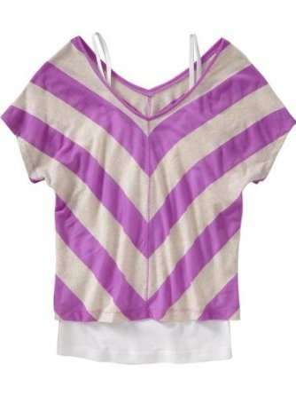 Old Navy Womens Chevron Stripe Tops
