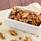DIY Brown Sugar Candied Walnuts
