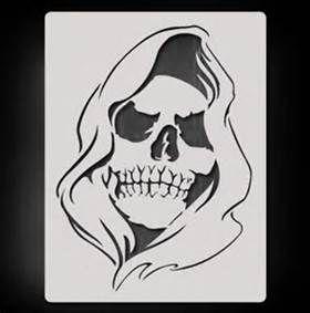 Grim Reaper Stencil - Bing images