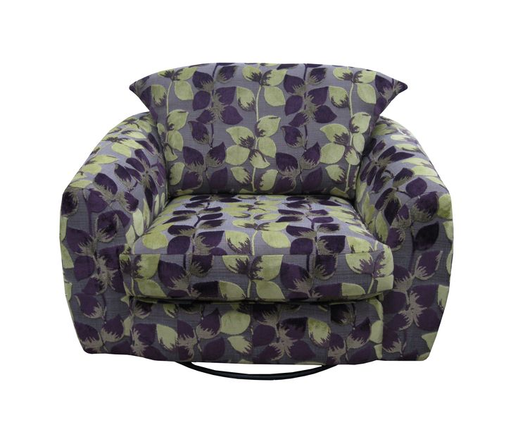 Vigo Snuggle Swivel Chair. Visit our website to view this chair in different fabrics. www.drumbristonfurniture.ie