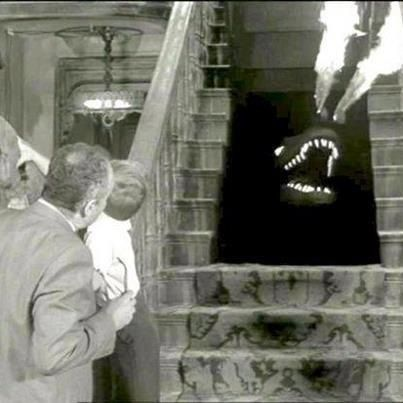 SPOT ... The fabulous pet dragon lived under the staircase ...