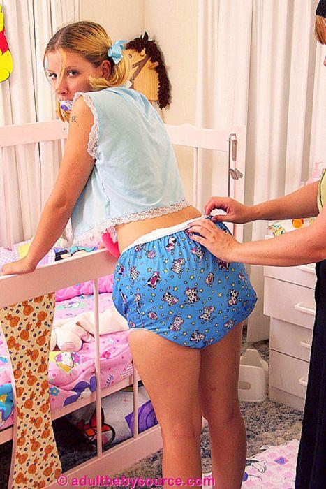 Maman girl spank