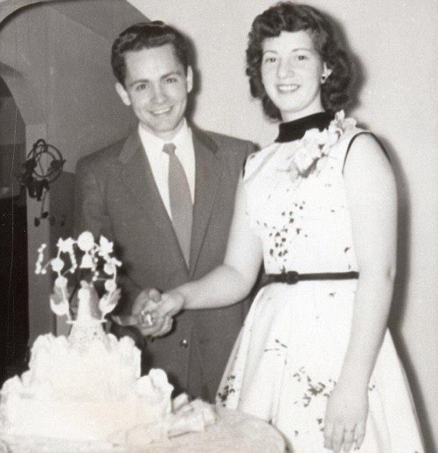 A 20 year old Charles Manson on his wedding day with ex-wife, Rosalie Jean Willis.