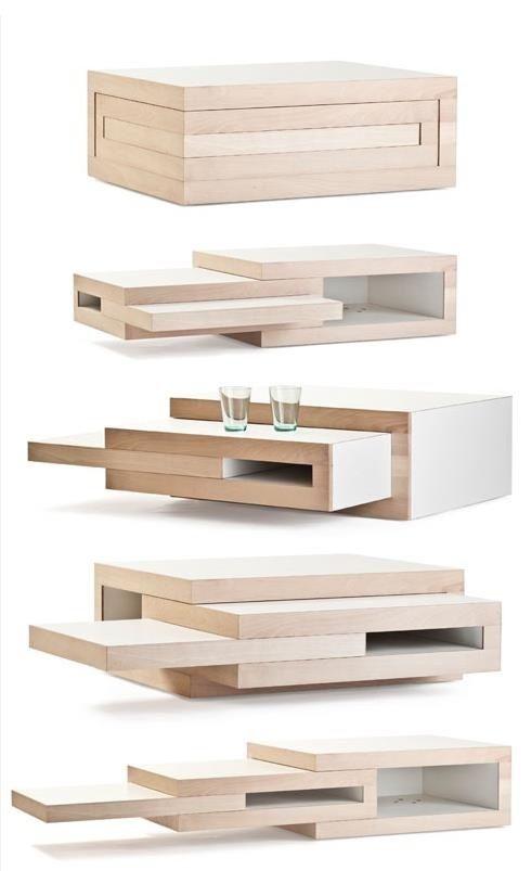Saving spaces furniture