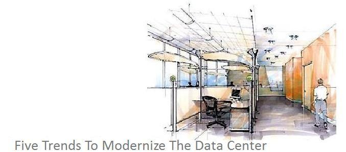 Five Trends To Modernize The Data Center. #Datacenter #Virtualization