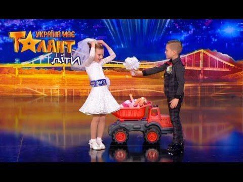 Beautiful and graceful dance on Ukraine's Got Talent.