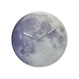 Gadget Gift Ideas: Abbott Collection Blue Moon Wall Clock