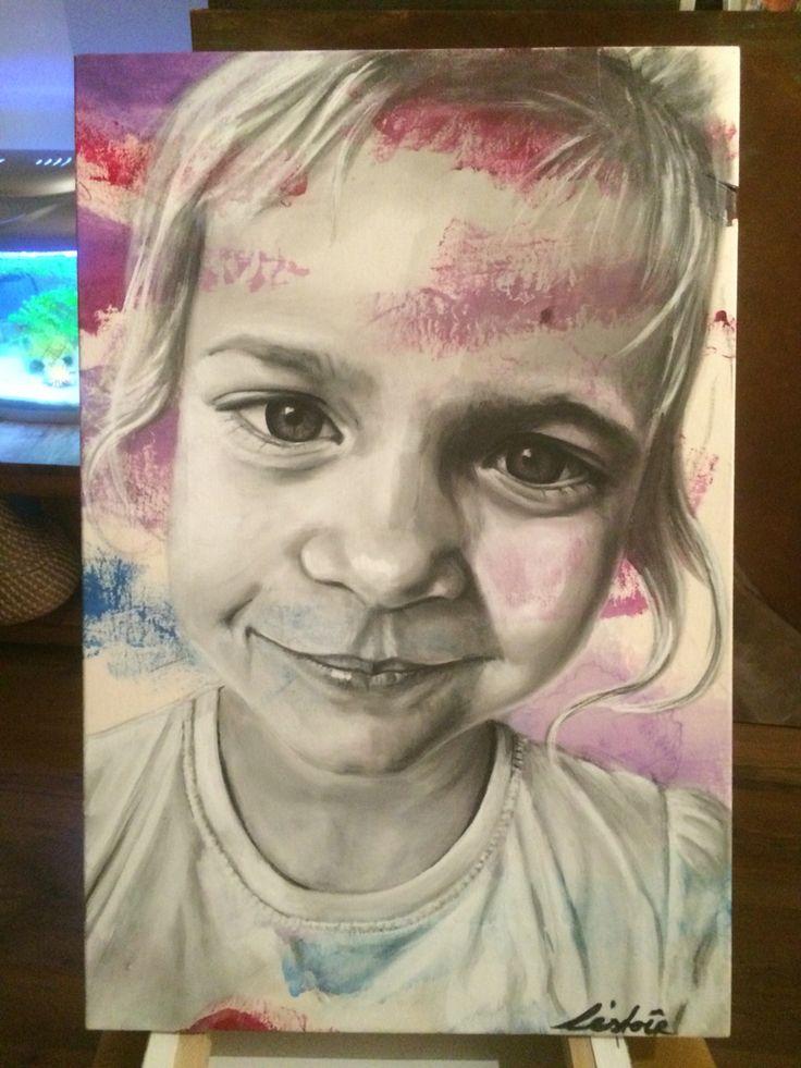 Portrait of a cutiepatootie www.lestoir.com