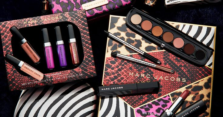 Marc Jacobs Beauty celebrates Holiday 2017 with #DecadentBeauty. Indulgent sets with exclusive shades are decked out in sleek, sexy prints hand-selected by Marc himself. Surrender to your most decadent instincts. #entry