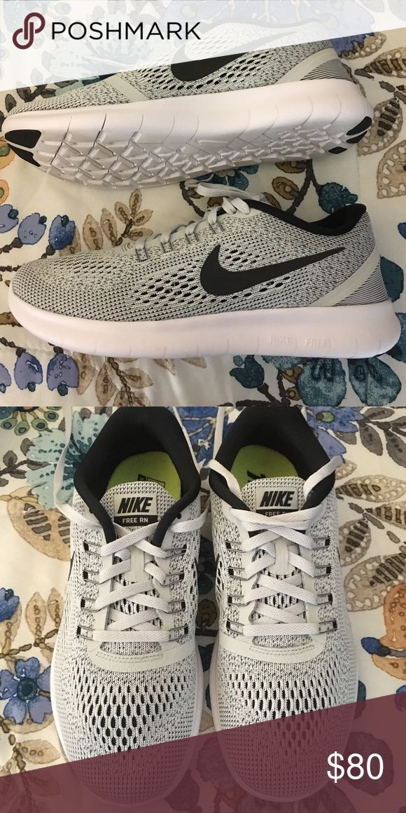 Nike Free Runs size 8, only worn once for a couple hours ./ not looking to trade Nike Shoes