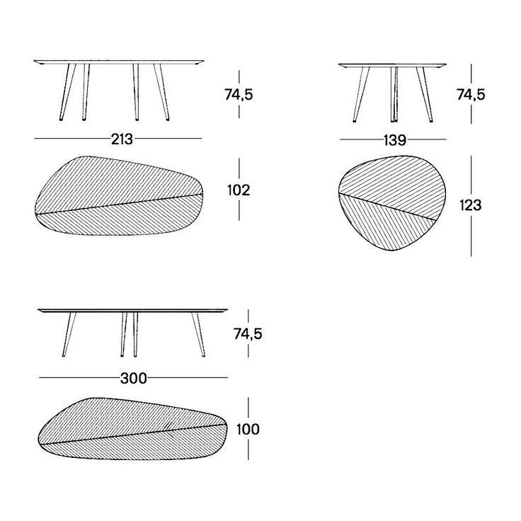 25 beste idee n over console tafels op pinterest for Table zanotta tweed