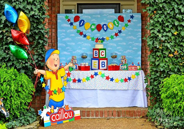 GreyGrey Designs: {My Parties} Caillou Party and Giveaway with Birthday Express
