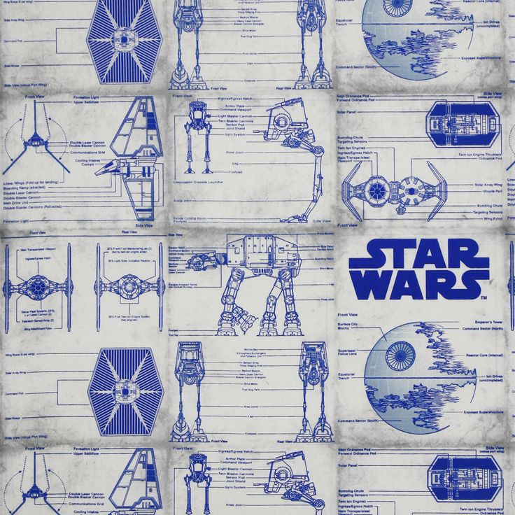 8 best sci fi fabric images on pinterest sci fi science fiction star wars ship blueprint in blue from camelot fabrics get spacey with this spaceship blueprint pattern malvernweather Image collections
