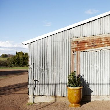 Hot summer's day at Merribee.  The Old Shed. www.merribee.com.au