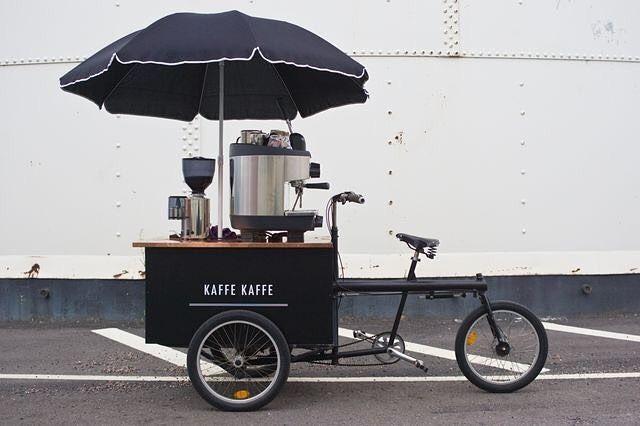 @soderbergsara coffee bike in Sweden #inspiration #coffee #design #art #bookofcoffee #coffeelover #lifestyle #coffeetime #tea #foodie #happy #mood #espresso #blogger #foodstagram #photography #travel #book #coffeeaddict #foodgasm #foodporn #quotes #quoteoftheday #coffeebreak #autumn #happiness #picoftheday #likeforlike #coffeeshop #coffeegram