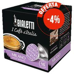 16 CAPSULE BIALETTI MOKESPRESSO I CAFFÈ D'ITALIA MILANO