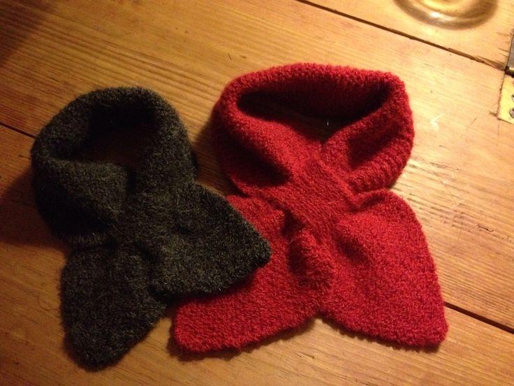 Fisk strikket i Rustik, Sys Fredens - Vinterbaby