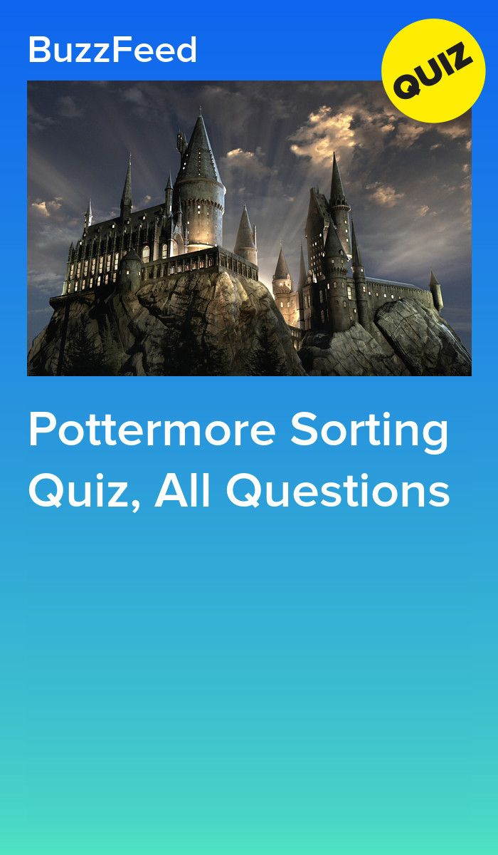 Pottermore Sorting Quiz (all possible questions) | Harry Potter Amino