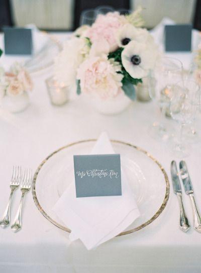 Black Tie Al Fresco Affair In Napa Dusty Blue WeddingsBlue Wedding ColorsFairytale