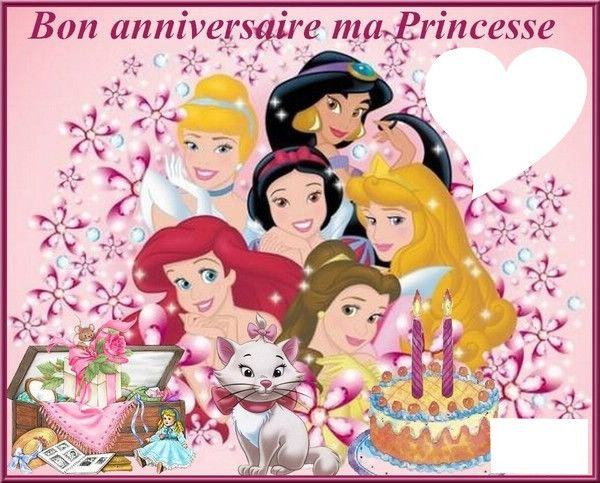carte anniversaire photo montage Carte D'invitation Anniversaire Petite Fille Beautiful Montage