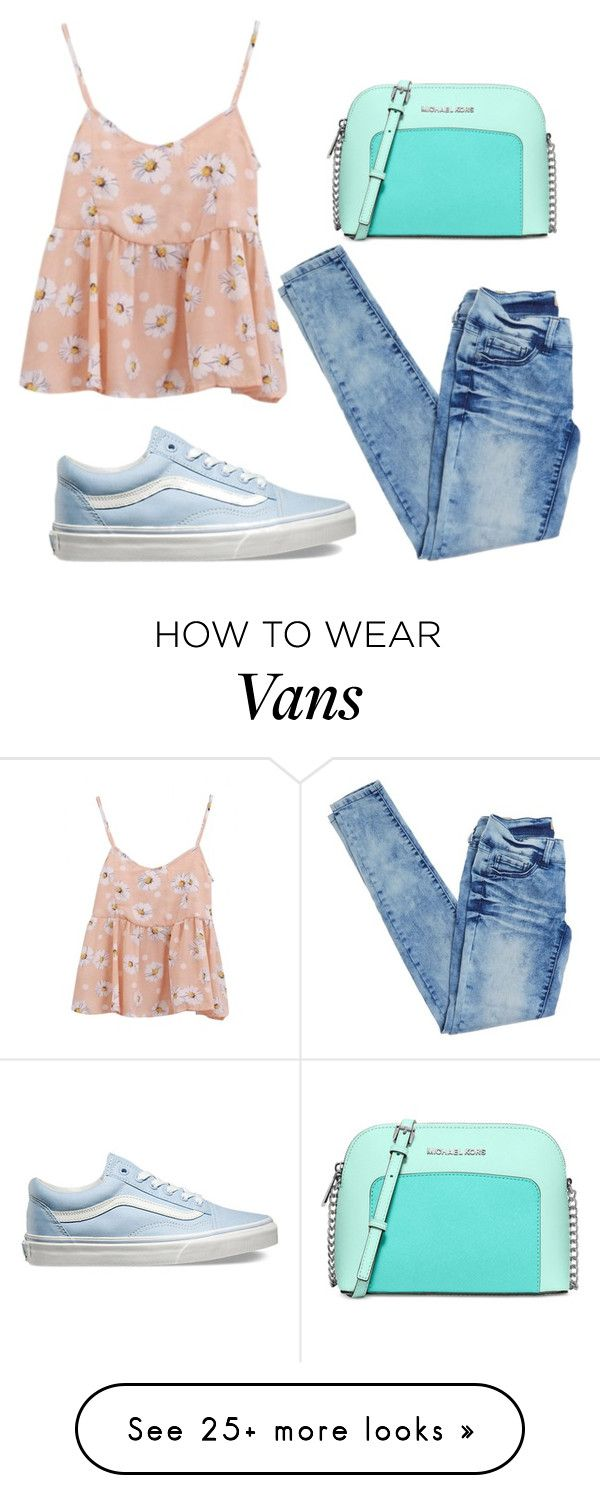 """""""Untitled #181"""" by milena-zurabyan on Polyvore featuring Michael Kors, Vans, women's clothing, women's fashion, women, female, woman, misses and juniors"""