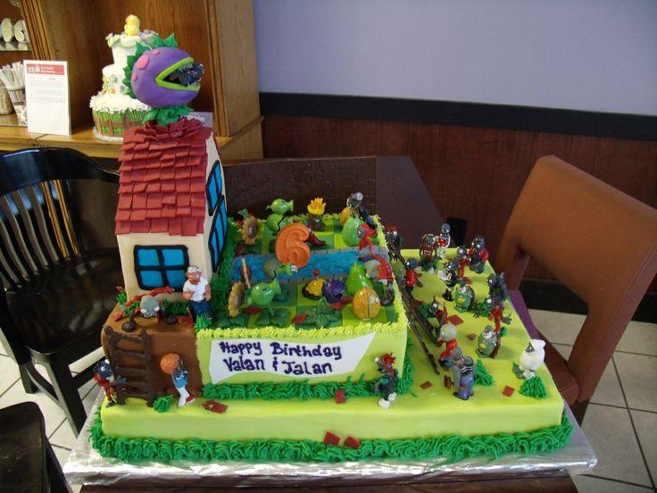 Plants Vs Zombies Birthday Cake Unusual Cakes
