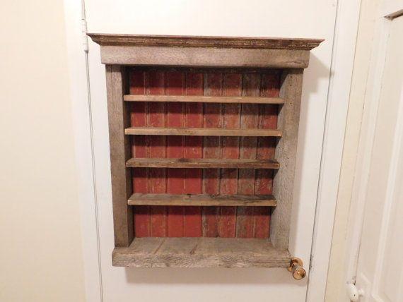 Rustic Display Shelf By Farrowfabworks On Etsy Display