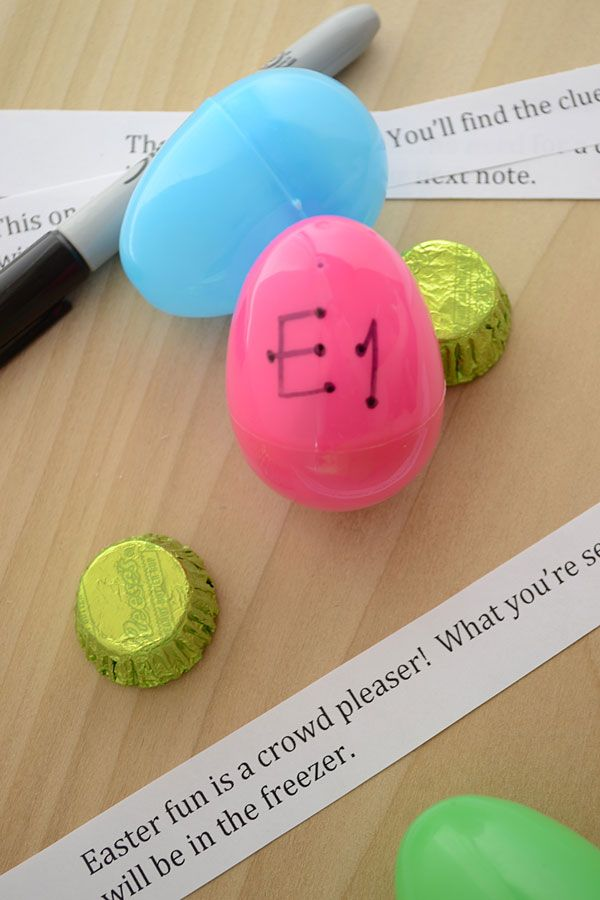 How to put together an Easter Egg Scavenger Hunt for Teens - with Free Printable Clues | Storypiece.net