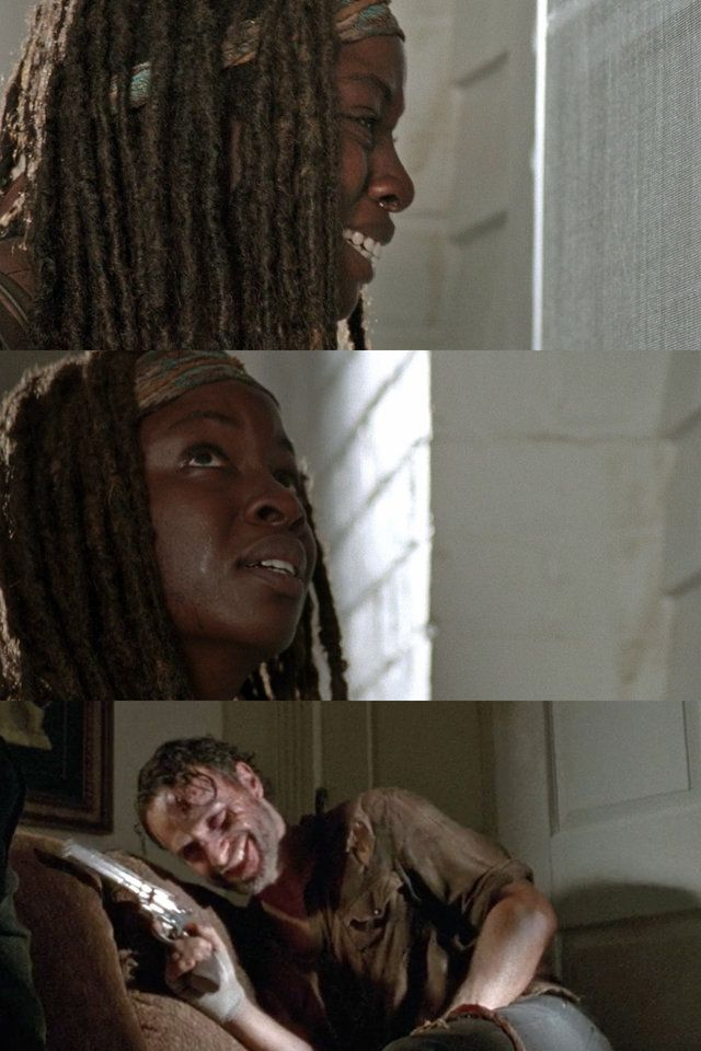 All Of Rick And Michonne S Relationship Moments On The Walking Dead Rick And Michonne Michonne The Walking Dead