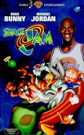 Space Jam! I was obsessed with this movie and Michael Jordan for a year after this came out.