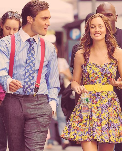 Gossip girl fashion. Love Chuck Bass and Blair Waldorf fashion.miss this show!!