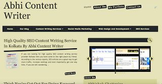 High quality content writing service provider kolkata