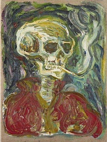 BILLY CHILDISH http://www.widewalls.ch/artist/billy-childish/ #contemporary  #art  #stuckism