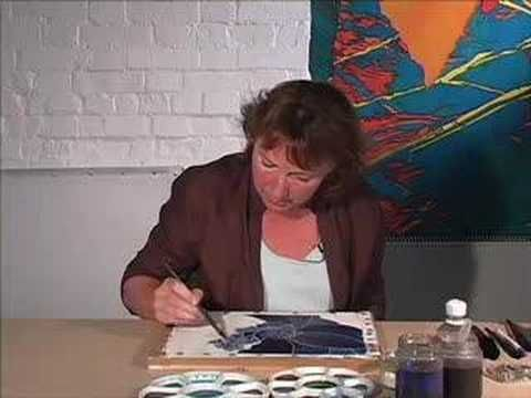 Gutta Technique: Silk Painting with Jill Kennedy