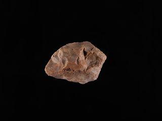 Raspador tallado en piedra