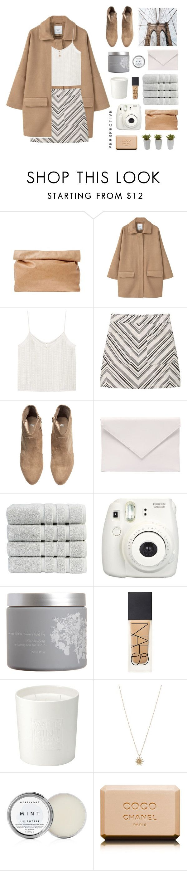 """every time we say goodbye"" by sabulous836 ❤ liked on Polyvore featuring Marie Turnor, MANGO, H&M, Verali, Christy, Fujifilm, red flower, NARS Cosmetics, The White Company and ASOS"