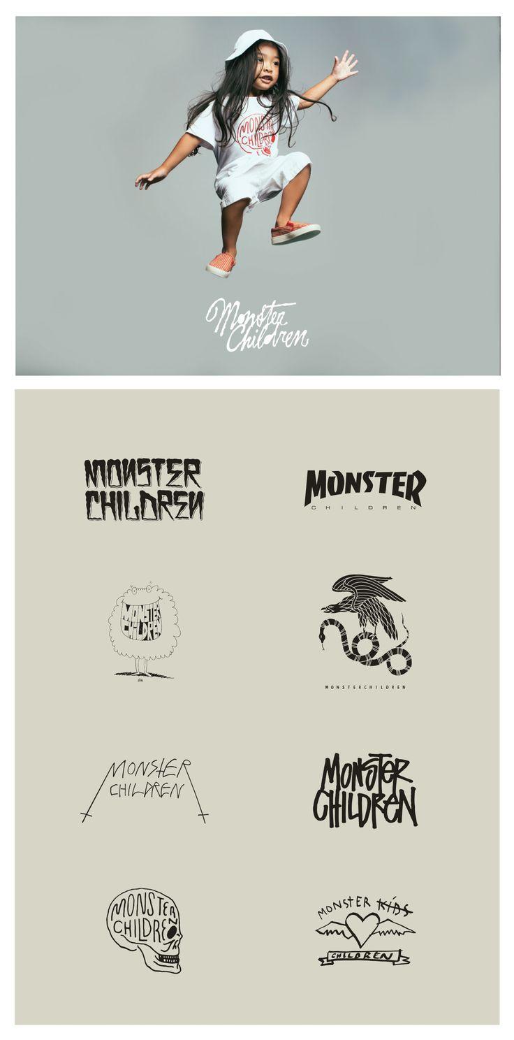 Monster Children various logo designs monsterchildren 24
