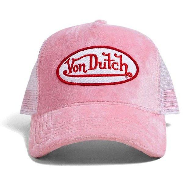 Von Dutch Mens OG Patch Tan Trucker Hat