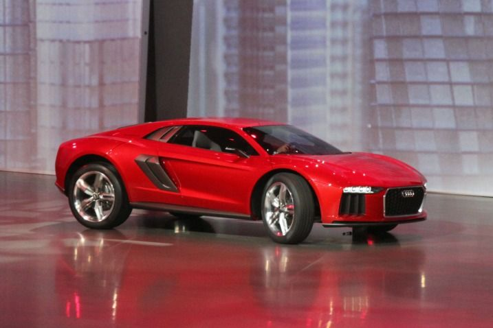 Audi Nanuk Concept: 2013 Frankfurt Auto Show  This is Audi's idea of a sports car that could theoretically also go off-road. Actually, it's more like Italdesign's idea of an off-road sports car.