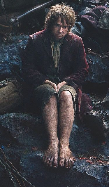 this is were bilbo sat when he fell in the in the goblin mine, haahaa