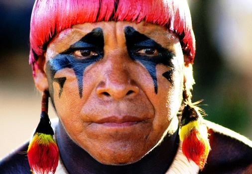 xingu - Brazilian Indian tribe