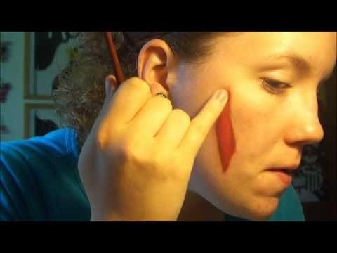 Wunden schminken mit wenig Aufwand!! - YouTube