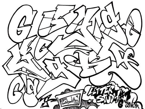 the graffiti letter g